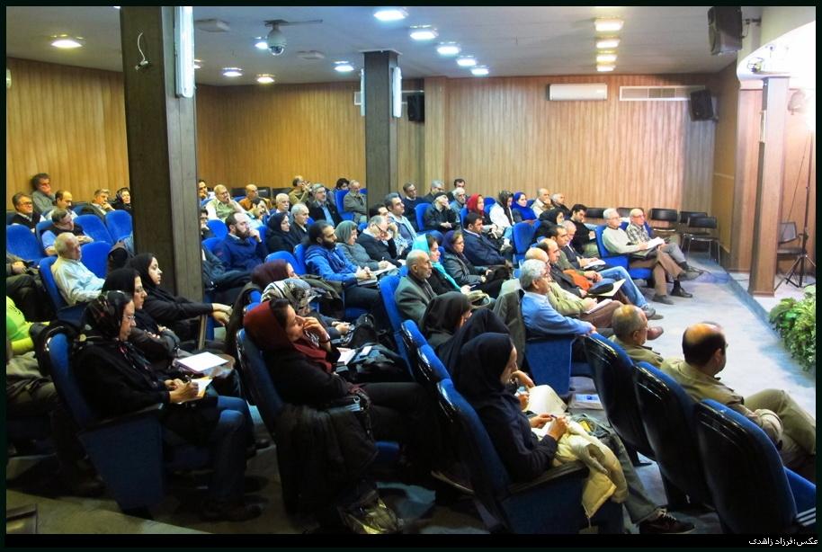عبدالکریم رشیدیان گزارش تصویری نشست نقد و بررسی کتاب «جنبش پدیدار شناسی»